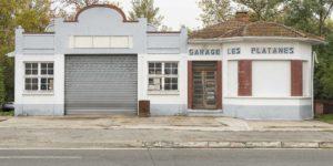 Ancien garage automobile RN20 Vernet 31