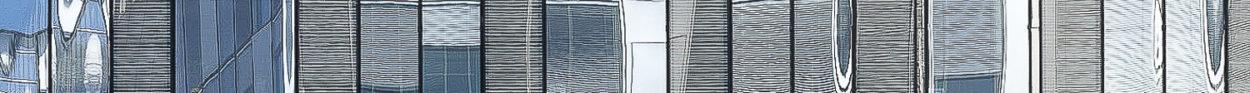 reflet d'un immeuble à Arcueil 94