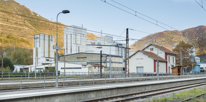 RN20 Gare et usine de talc à Luzenac 09