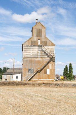 Série de 4 silos agricoles -Membrolles4-41