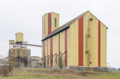 Silos à grains agricoles-Ouzouer-le-Marché-41